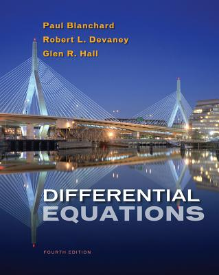 Differential Equations By Blanchard, Paul/ Devaney, Robert L./ Hall, Glen R.